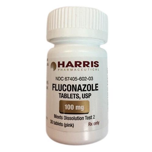 Rx Fluconazole Tabs, 100 mg, 30 ct