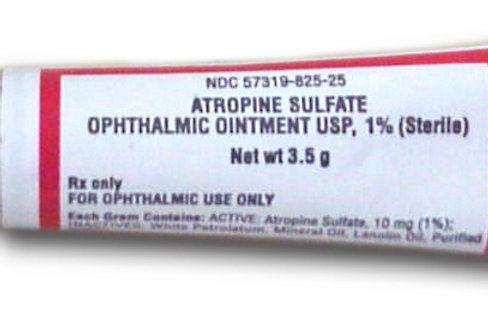 Rx Atropine Ophthalmic Ointment 1%, 3.5g