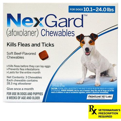 Rx NexGard,  Dog 10-24.0, 3 month