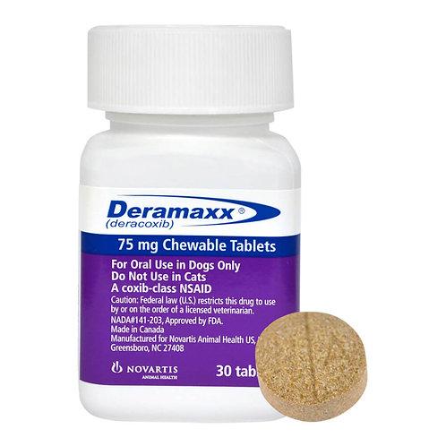Deramaxx Rx, 75 mg x 30 ct