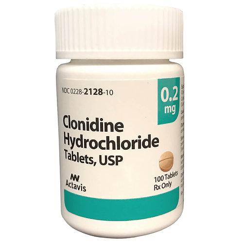 Rx Clonidine 0.2 mg x 100 Tabs