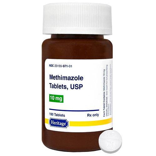 Methimazole Rx Tablets, 10 mg x 100 ct