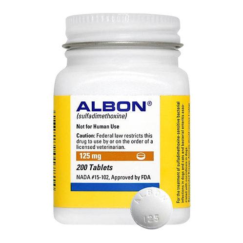 Albon Rx, 125 mg x 200 ct