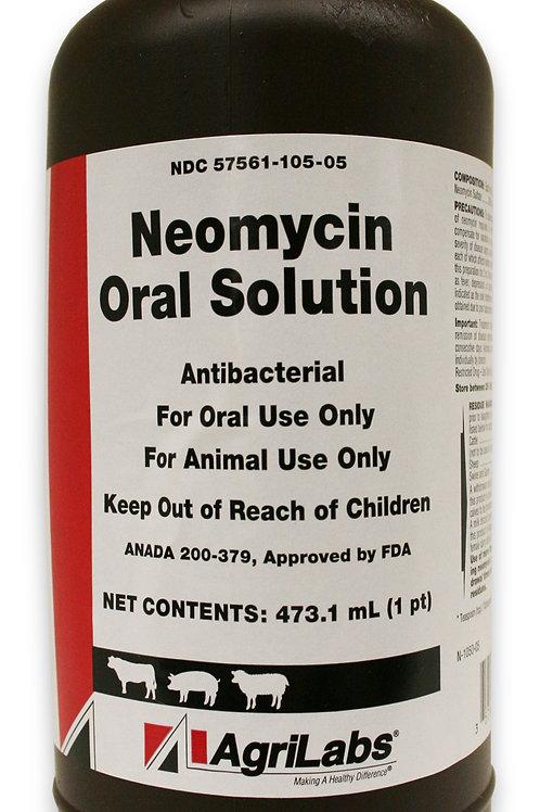 Rx Neomycin Oral Solution 16 oz