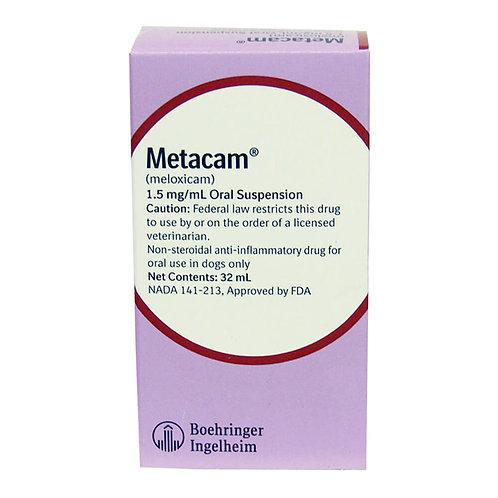 Metacam Oral Suspension Rx, 1.5 mg/ml x 32 ml