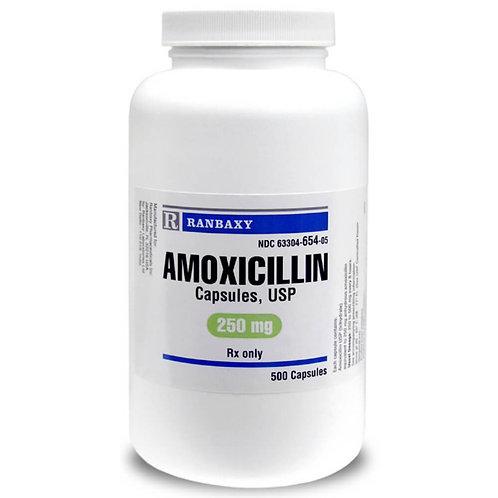 Amoxicillin Rx, Capsules, 250 mg x 500 ct