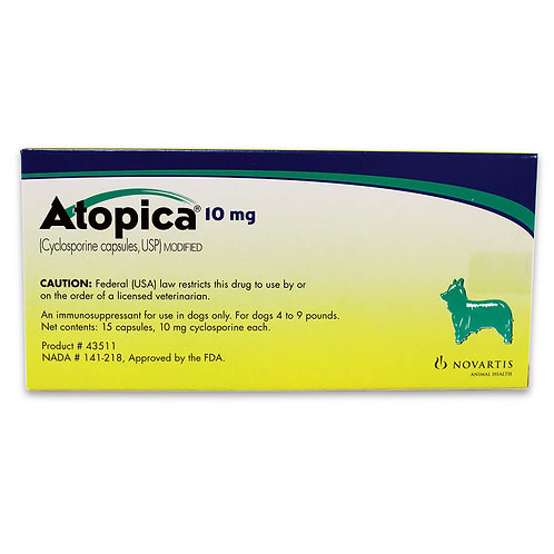 Atopica Rx, Dogs 4-9 lbs