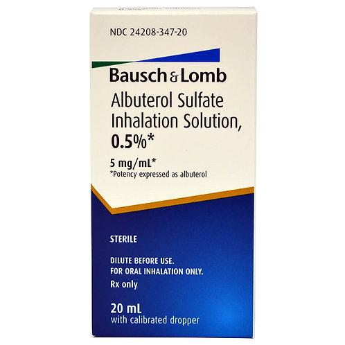 Albuterol Sulfate Inhalation Solution