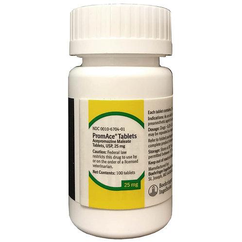 Rx Acepromazine Tab 25mg 100 Count