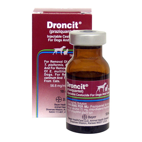 Droncit Injectable Rx, 56.8 mg x 10 ml