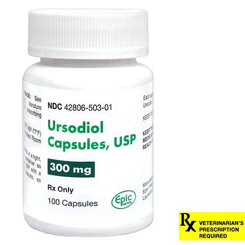 Ursodiol Rx Capsules, 300 mg x 100 ct