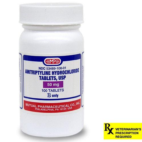 Amitriptyline HCL Rx, 50 mg x 100 ct