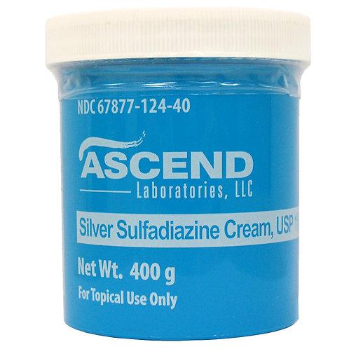 Silver Sulfadiazine Cream Rx, 400 g