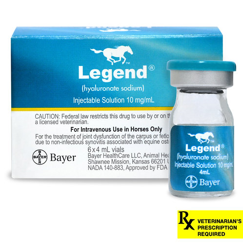 Legend Injectable Solution Rx, 10mg/ml x 4 ml