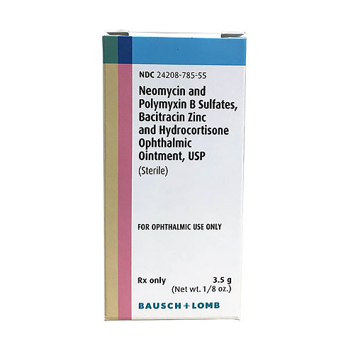 Rx Triple Antibiotic Ophthalmic Ointment with