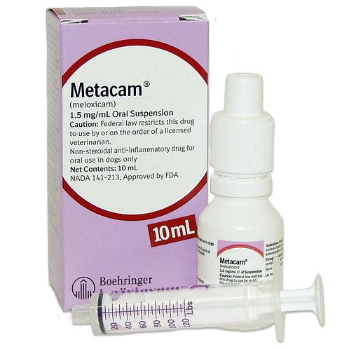 Metacam Oral Suspension Rx, 1.5 mg/ml x 10 ml
