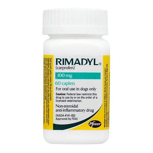 Rimadyl Rx, Caplets, 100 mg x 60 ct