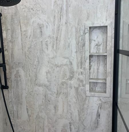Demetrius-335M  Shower Wall Kit The Oak Niche
