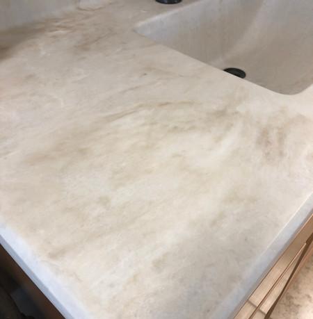 Aurelius-342M  Vanity Top Beveled edge