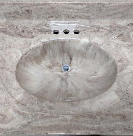 Commodus-332G  Vanity Top