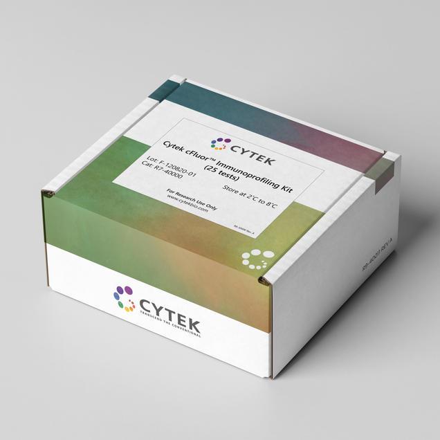 Cytek cFluor Packaging Top with Label