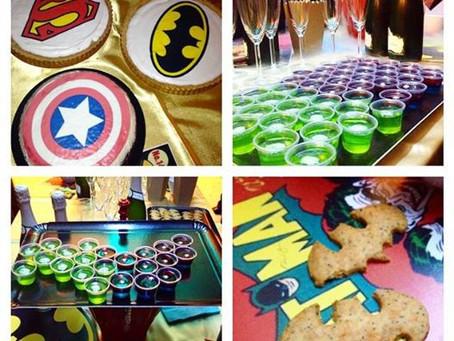La soirée des supers-héros !