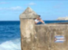 The Malecón in Havana, Cuba