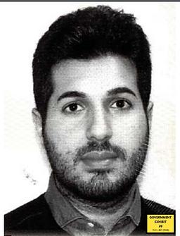 Reza Zarrab mugshot