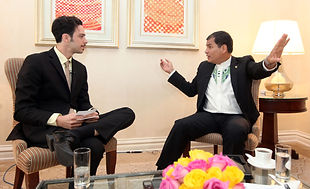 Adam Klasfeld interview with Ecuadorean President Rafael Correa