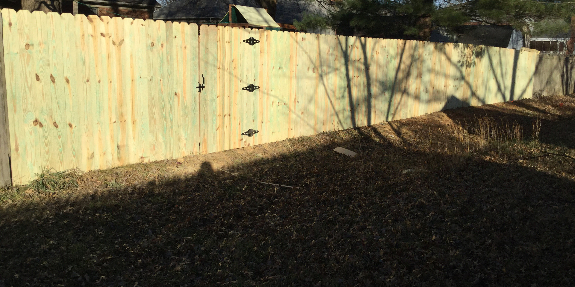 """Standard 72""""h TYP Privacy Fence"""