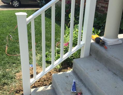 Vinyl Handrail