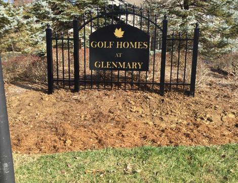 Specialty Sign Installation for Neighborhood