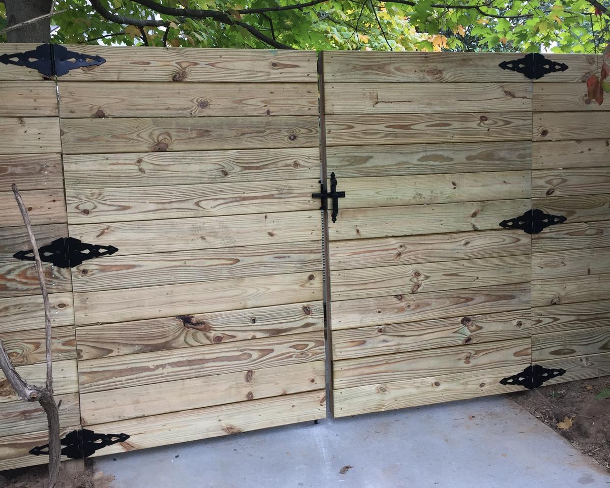 Horizontal Wood Privacy