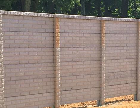 "Pre-Cast Concrete Wall ""FenceCrete"""
