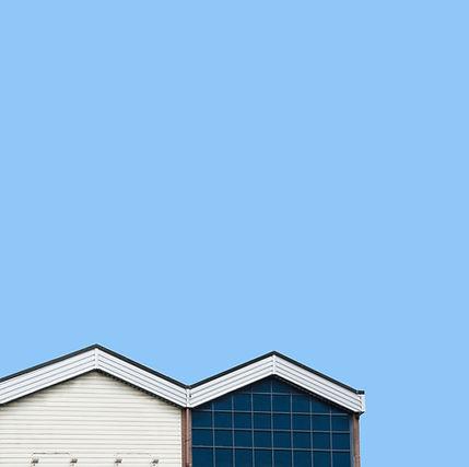 Minimalistic Fotografia di un tetto