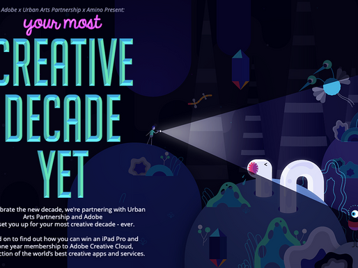 UAP LAUNCHES THE CREATIVE DECADE CONTEST WITH ADOBE AND AMINO APPS