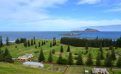Kingston, Norfolk Island, from Queen Elizabeth Lookout
