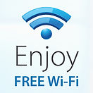 Enjoy Free Wi-Fi