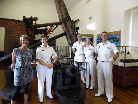 HMS Sirius Visits Norfolk