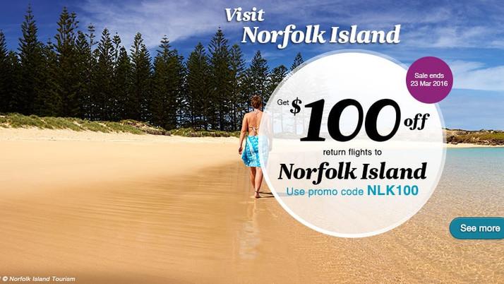 Norfolk Is On Sale