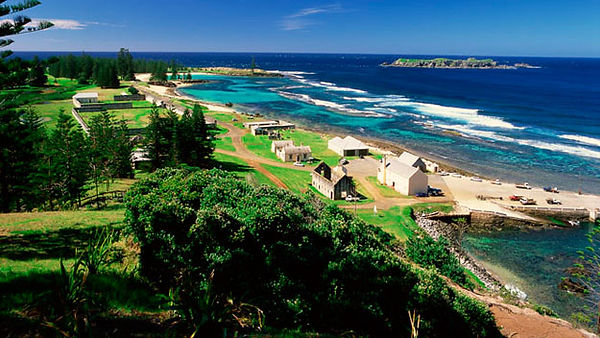 Kingston Convict Area and Emily Bay, Norfolk Island