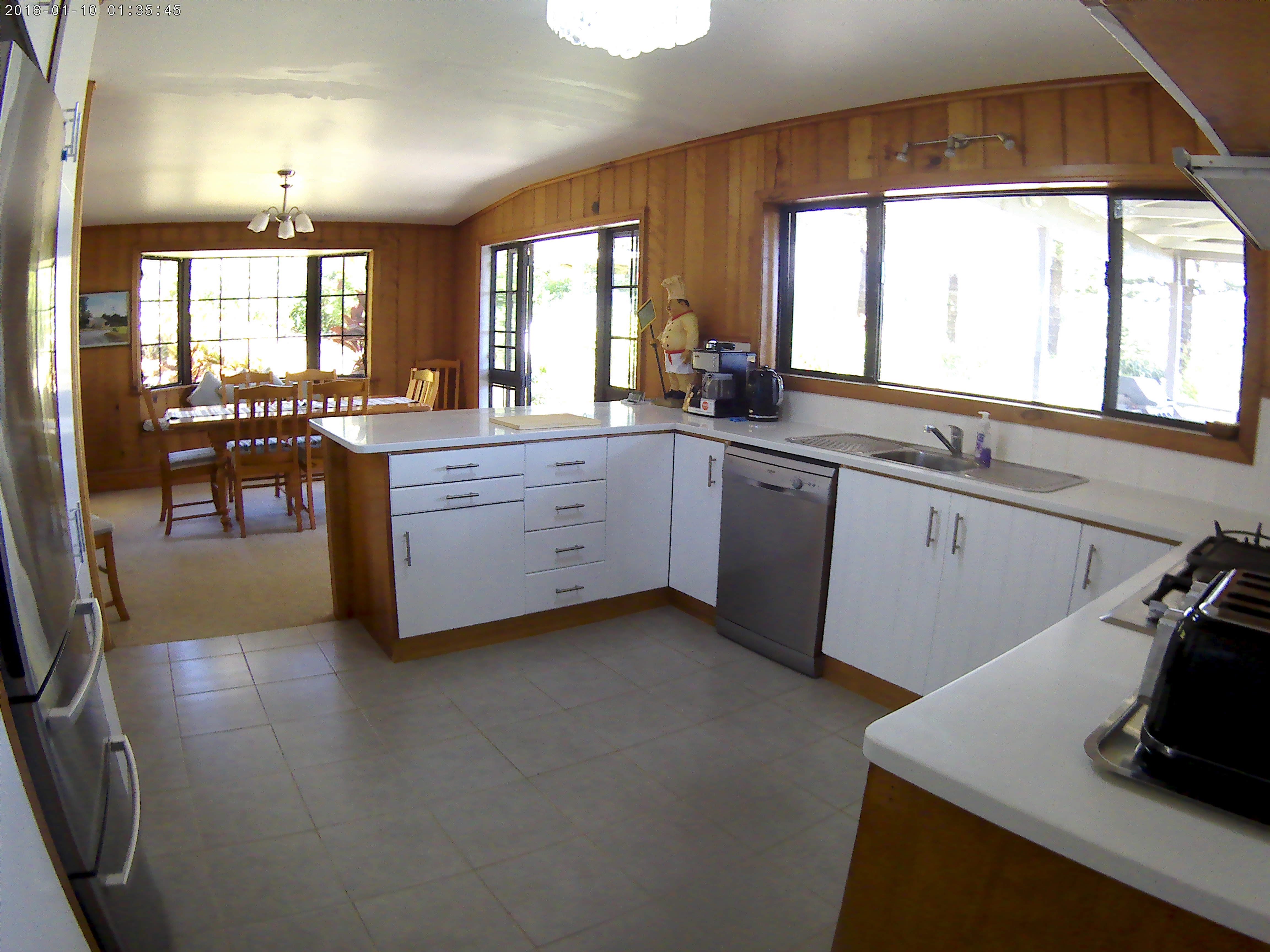Massive Kitchen and Dining