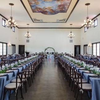 Reception Hall Dinner