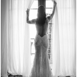 French doors in bridal suites