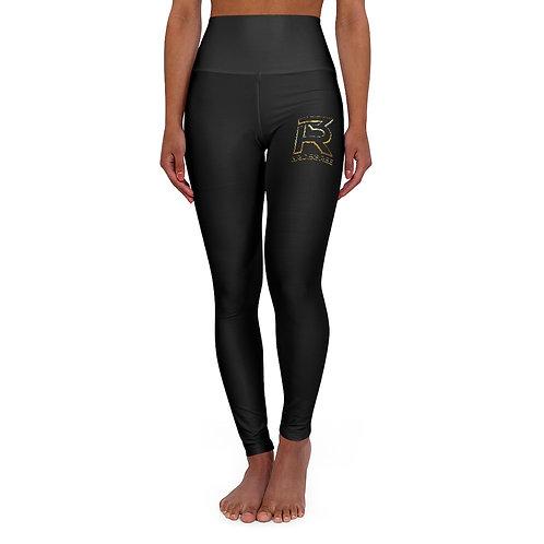 Black High Waisted Yoga Leggings