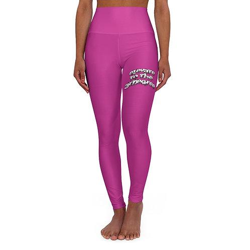 Pink High Waisted Yoga Leggings