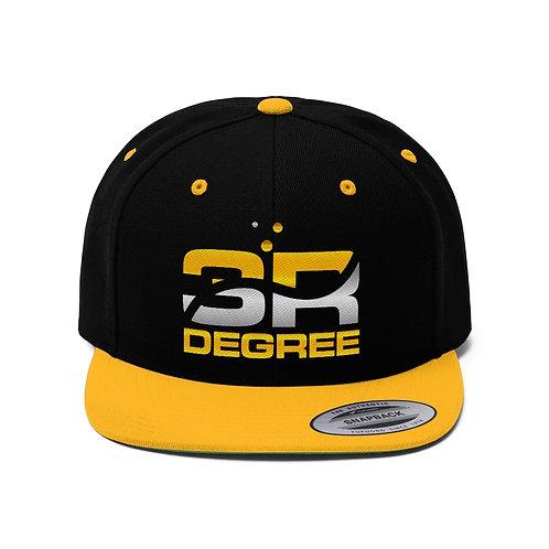 3RDegree Unisex Flat Bill Hat