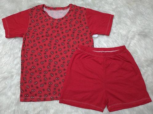 Pijama Homem Aranha (Tamanho 10)
