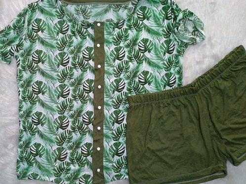 Folhas/Verde - GG