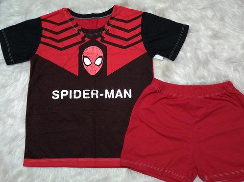 Pijama Spiderman (Tamanho 10)